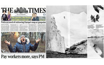 THE TIMES – Mission Antarctica
