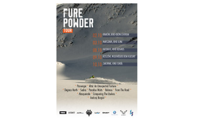 PURE POWDER TOUR – Degrees North screening in Poland
